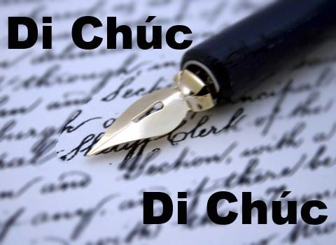 Dịch vụ tư vấn soạn thảo di chúc tại Thanh Hóa
