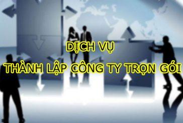 Dịch vụ thành lập công ty trọn gói tại Thanh Hóa