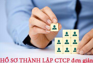 Hồ sơ thành lập công ty cổ phần tại Thanh Hóa
