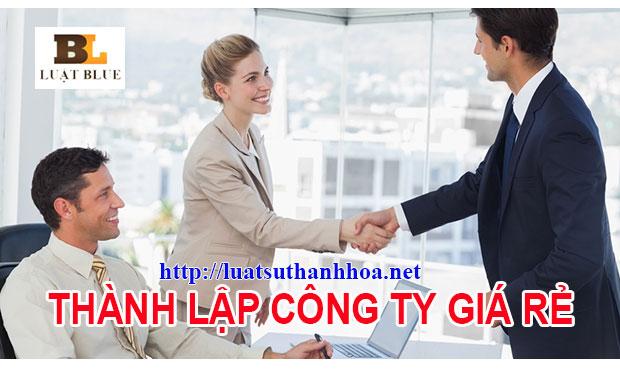 Văn phòng luật sư Thanh Hóa - Thành lập công ty Thanh Hóa