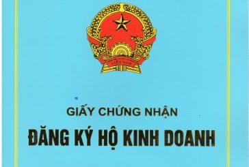 Dịch vụ thành lập hộ kinh doanh cá thể tại Thanh Hóa.