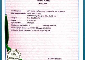 Thủ tục cấp văn bằng bảo hộ sáng chế nhanh gọn tại Thanh Hóa
