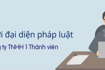 Thủ tục thay đổi người đại diện công ty TNHH 1 thành viên tại Thanh Hóa