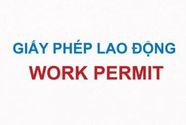 Hồ sơ cấp giấy phép lao động tại Thanh Hóa