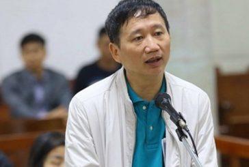 Bị cáo Trịnh Xuân Thanh tại phiên sơ thẩm chiều ngày 25/1/2018