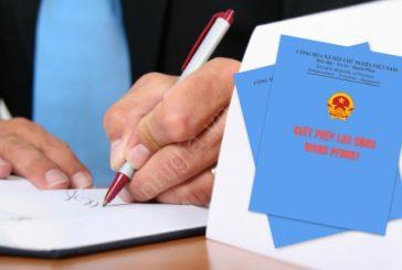 thủ tục cấp mới giấy phép lao động cho các nhà quản lý tại Thanh Hóa