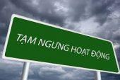 Thủ tục đăng ký tạm ngừng hoạt động cho chi nhánh công ty tại Thanh Hóa