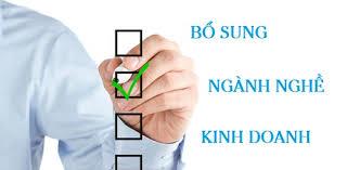 Hồ sơ thay đổi, bổ sung ngành nghề kinh doanh tại Thanh Hóa